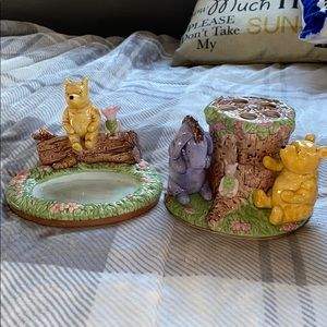 Disney Winnie the Pooh Soap and Toothbrush Holders